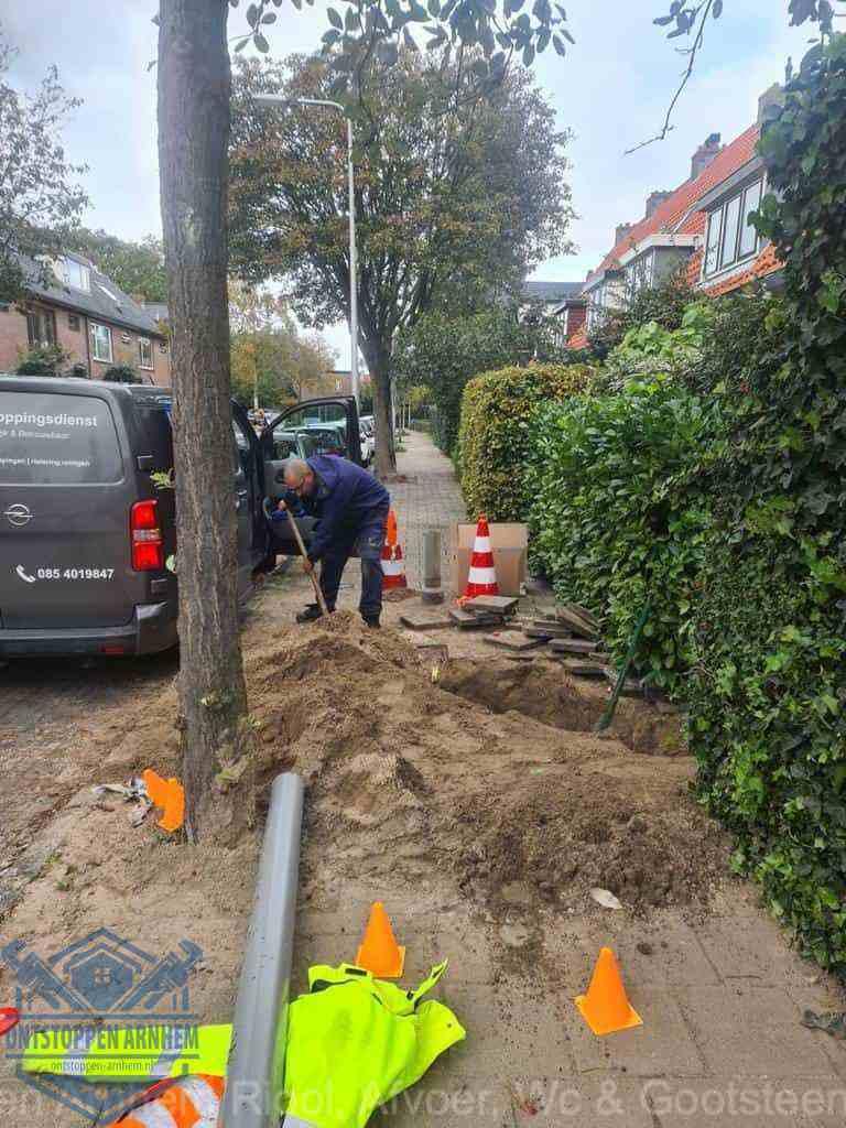 Graven riool Arnhem