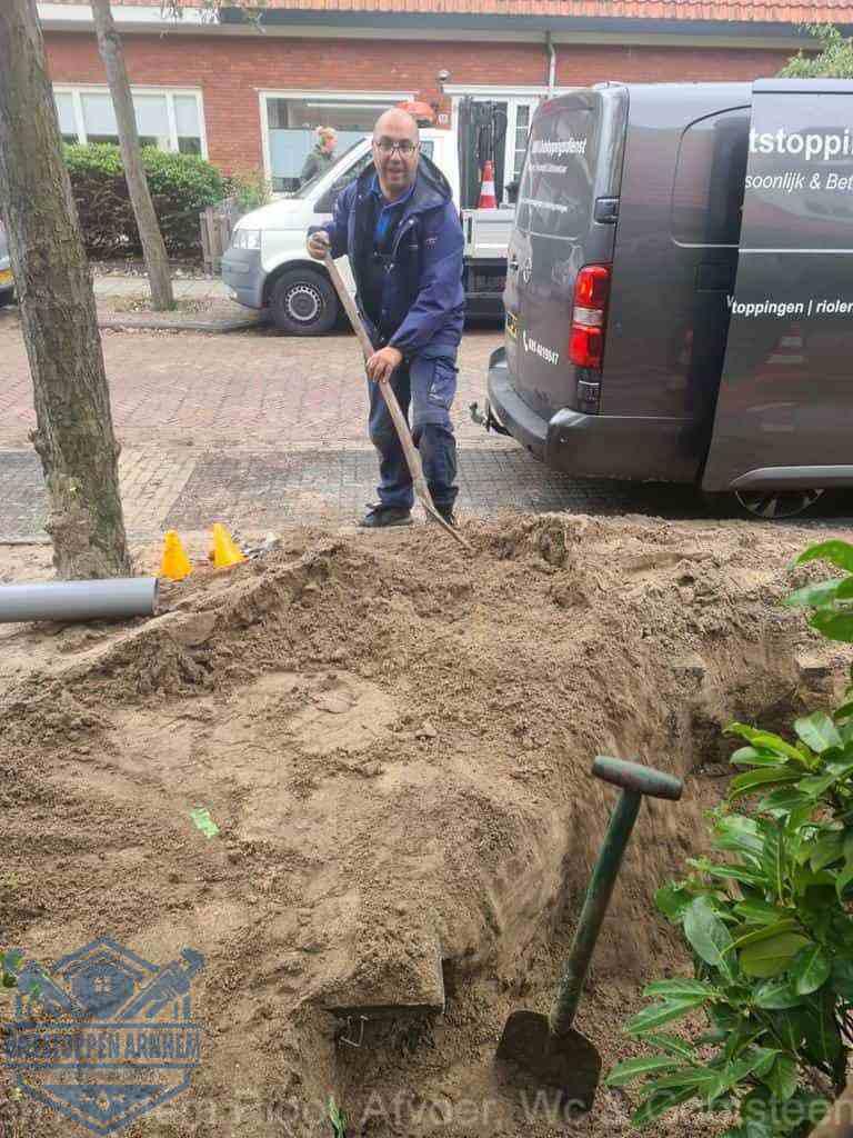 Riool ontstoppen Arnhem graven